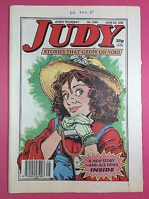 JUDY - Stories For Girls - No.1589 - June 23, 1990 - Comic Style Magazine
