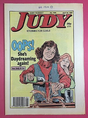 JUDY - Stories For Girls - No.1585 - May 26, 1990 - Comic Style Magazine
