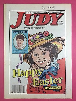 JUDY - Stories For Girls - No.1579 - April 14, 1990 - Comic Style Magazine