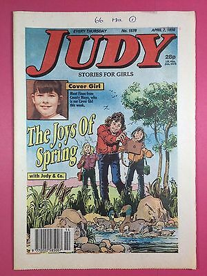 JUDY - Stories For Girls - No.1578 - April 7, 1990 - Comic Style Magazine