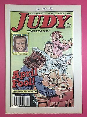 JUDY - Stories For Girls - No.1577 - March 31, 1990 - Comic Style Magazine