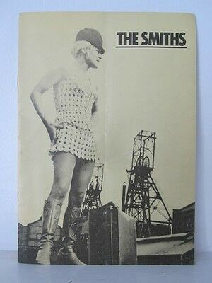 Tour programme The Smiths Meat is Murder UK tour 1985 Morrissey