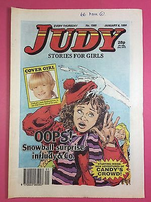 JUDY - Stories For Girls - No.1565 - January 6, 1990 - Comic Style Magazine