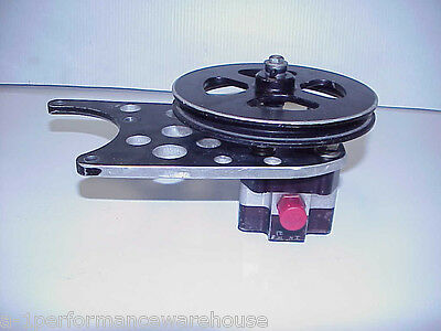 "SCP 1 Stage Billet Aluminum Rear End Pump & 9"" Ford Mounting Bracket NASCAR"