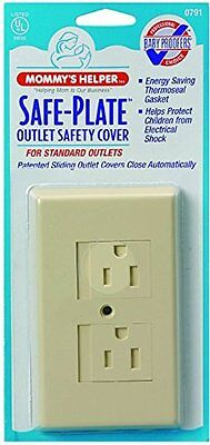 Mommys Helper - Safe Plate Electrical Outlet Covers Standard 5 Pack, White