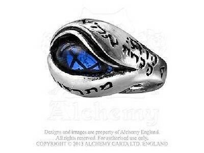 Alchemy Gothic R124 Angels Eye Ring