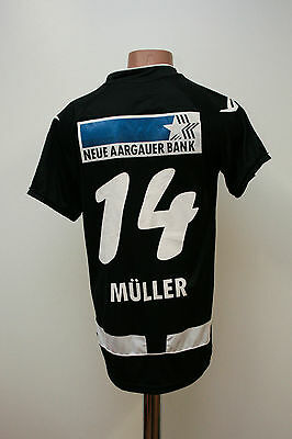 Aarau Switzerland Match Worn Issue Football Shirt Jersey Legea Swiss Muller #14