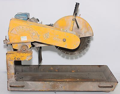 Bianco Brick Saw 2.2HP Electric Engine | 355mm Blade | PreLoved #226266