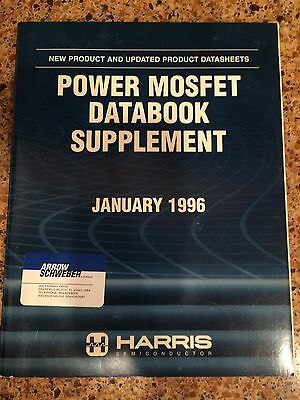 Harris 1996 Power MOSFET Databook Suppement