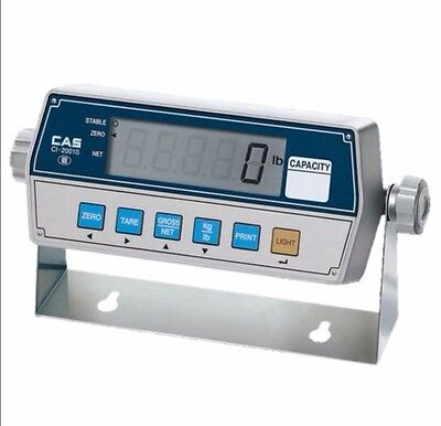 """CAS CI-2001B Digital Scale Weighing Display Indicator with Backlight 1"""" LCD"""