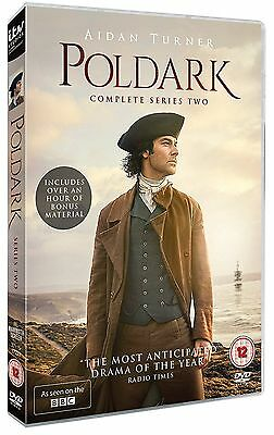 POLDARK Complete Series Season 2 Box Set Brand New DVD FAST & FREE 3 Discs