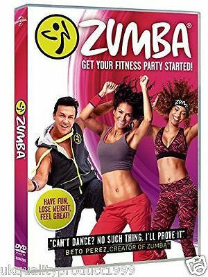 Zumba Dance Workout Fitness Burn Fat Training Exercise New & Sealed FAST & FREE