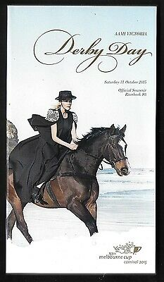 2015 Derby Day Turf Club Horse Racing Book Victoria - Free Postage