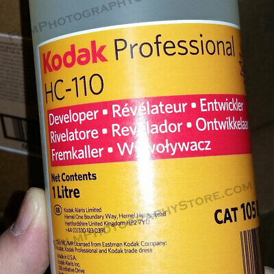 Kodak HC-110 BW Developer (1 Liter Concentrate)
