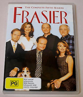 Frasier: The Complete Fifth Season Used 4 Dvd Set Very Good Condition