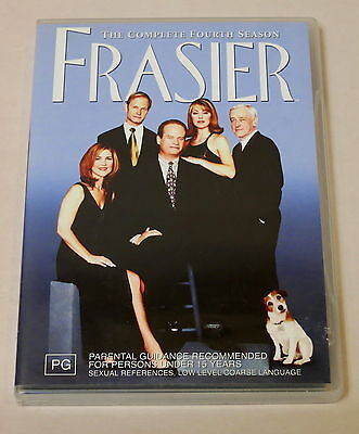 Frasier: The Complete Fourth Season Used 4 Dvd Set Very Good Condition
