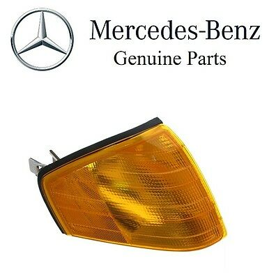 Front Left /& Right Genuine Turn Signal Lights Lamps Pair Set For Mercedes W201