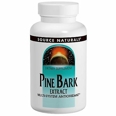 PINE BARK EXTRACT by SOURCE NATURALS - 60 TABLETS x 150 mg ANTIOXIDANT / MASSON