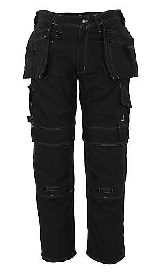 Mascot Ronda Craftsmens Mens Workwear Trousers Black Snickers Direct