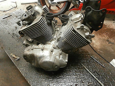 Yamaha Xv535 Virago 1998 Engine Complete For Spares And Repairs