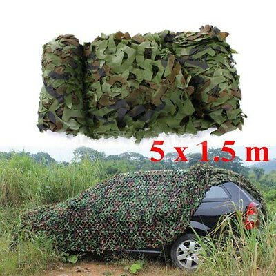 5m x 1.5m Camouflage Jagd Tarnnetz Bundeswehr Armee Army Tarnung Camo Camping