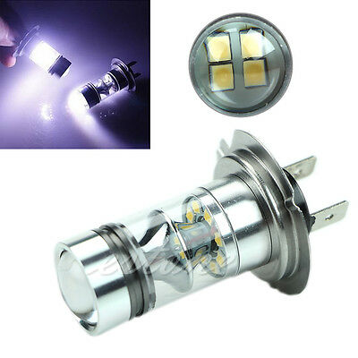 H7 6000K 100W LED 20-SMD Driving Fog Ampoules DRL lumière HID blanc
