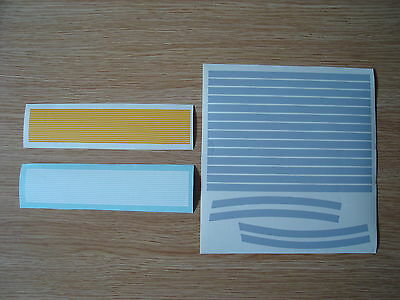 Modern Station Model Platform Edge & yellow vinyl stripes update Hornby sections