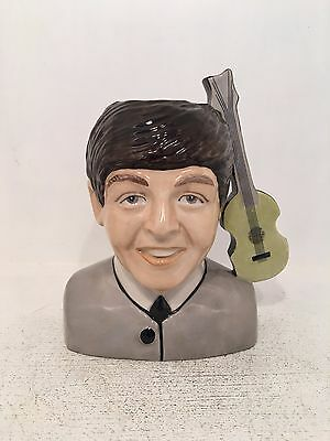 Kevin Francis Peggy Davies Paul Mccartney Limited Edition Toby Jug 90 of 200