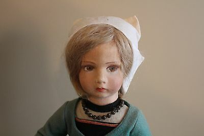 "Wonderful 17"" Felt Lenci Doll Vintage collectible"