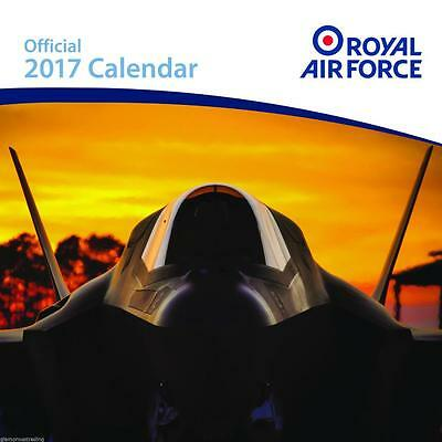 Raf Royal Air Force Official Uk Square 2017 Wall Calendar With Free Uk Postage