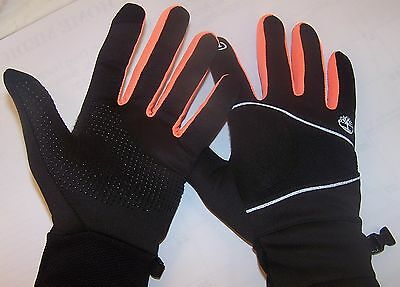 Timberland Lightweight Commuter Gloves Mens Large Black And Orange