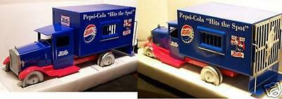 Pepsi Cola /Steel / Police Truck 1/18 by Spec-Cast - (5762)