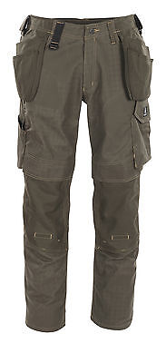 Mascot Velho Craftsmens Mens Workwear Trousers Olive Snickers Direct