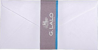 G.Lalo 20 Enveloppes Doublee Velin Gommee 110 x 220 Blanc G. Lalo 23000L