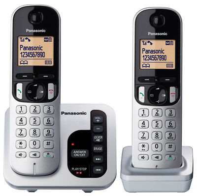 NEW Panasonic - KX-TGC222ALS - DECT Cordless Phone System from Bing Lee