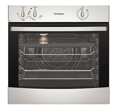 NEW Westinghouse - WVE613S - 60cm Fan Forced Oven - 80L from Bing Lee