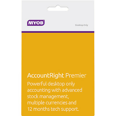 NEW MYOB - AccountRight Premier (Classic Platform) from Bing Lee