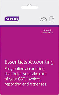 NEW MYOB - Essentials Accounting from Bing Lee