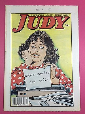 JUDY - Stories For Girls - No.1606 - October 20, 1990 - Comic Style Magazine