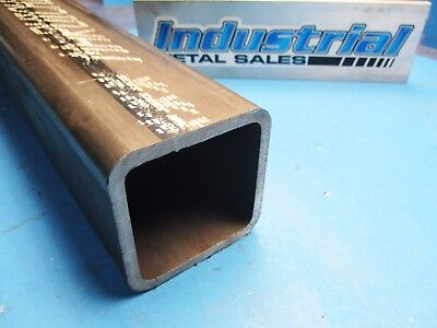"3-1/2"" x 12""-Long x 1/4""Wall Steel Square Tube->3.5"" Steel Square Tube x .250w"