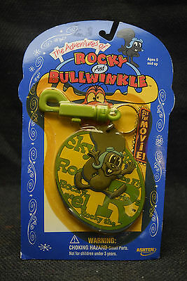 Vintage Rocky and Bullwinkle Key Chain - New in Package