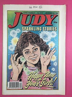 JUDY - Stories For Girls - No.1616 - December 29, 1990 - Comic Style Magazine