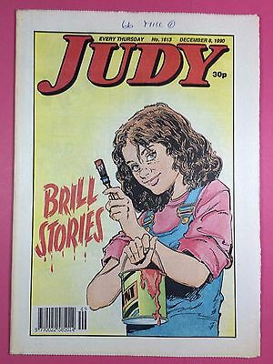 JUDY - Stories For Girls - No.1613 - December 8, 1990 - Comic Style Magazine