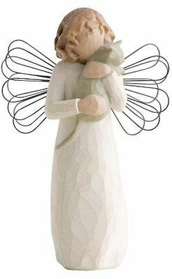 Willow Tree | WITH AFFECTION Angel Figurine *NEW* Susan Lordi 26109 Kitty Cat US