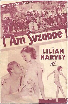 D I AM SUZANNE LILIAN HARVEY US Double HERALD MINI POSTER