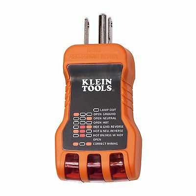 Klein Tools RT500 Receptacle Tester **Free Shipping** USA