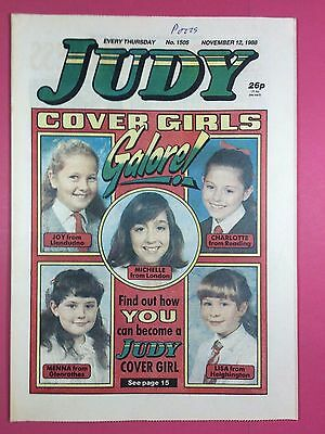 JUDY - Stories For Girls - No.1505 - November 12, 1988 - Comic Style Magazine