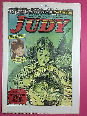 JUDY - Stories For Girls - No.1503 - October 29, 1988 - Comic Style Magazine