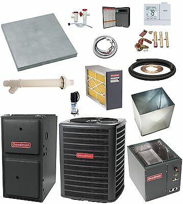 MOST COMPLETE SYSTEM 96% 2-Stage 100k btu Gas Furnace and 3 Ton 16 SEER AC