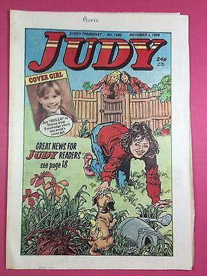 JUDY - Stories For Girls - No.1499 - October 1, 1988 - Comic Style Magazine